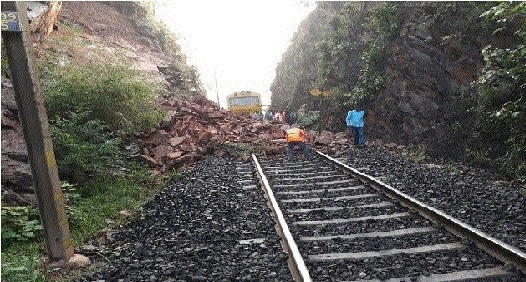 Major train mishap averted