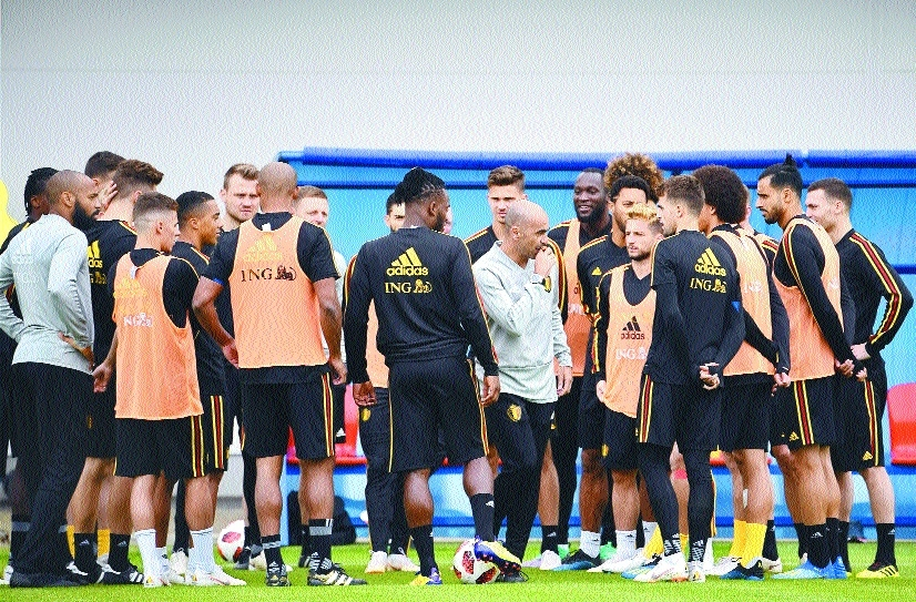 Team spirit can carry Belgium to final: Martinez
