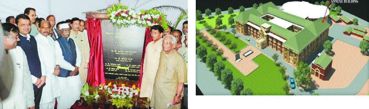 CM lays foundation stone for Vidhan Bhavan annexe building