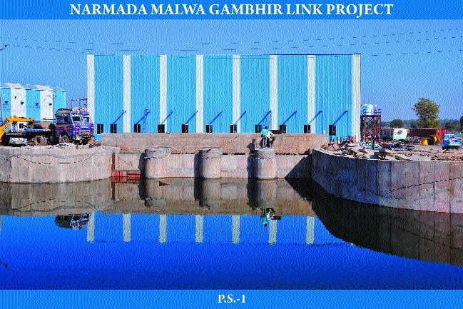 Narmada-Malwa-Gambhir river project in final stage
