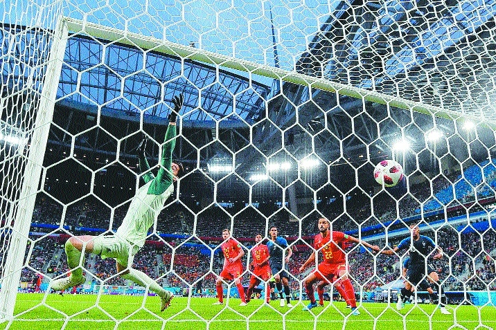 France victory a shame for football: Belgium's Courtois