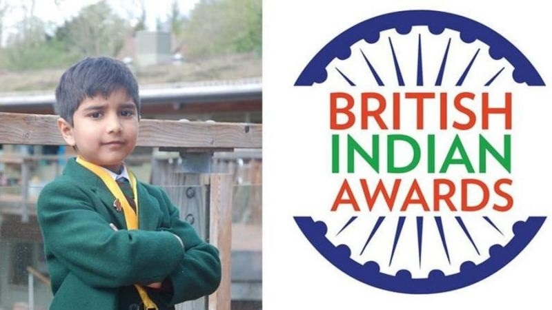 8-yr-old named 'British Indian of the Year' young achiever