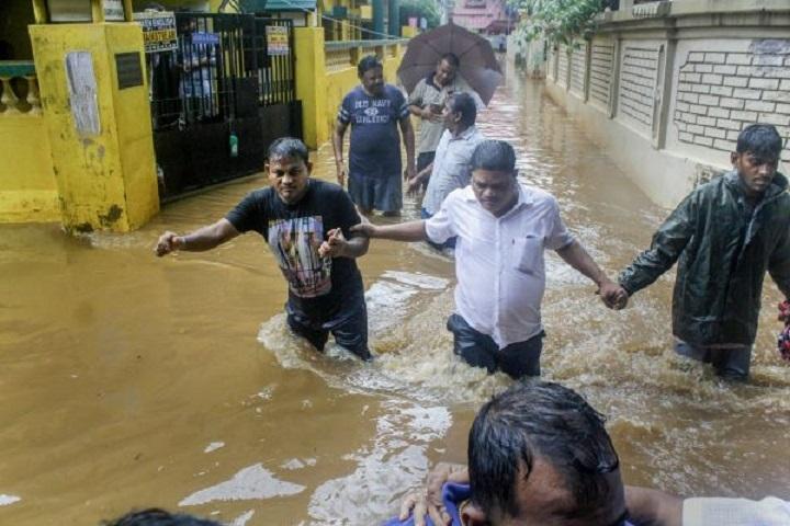 Landslides, waterlogging, traffic snarls in several States