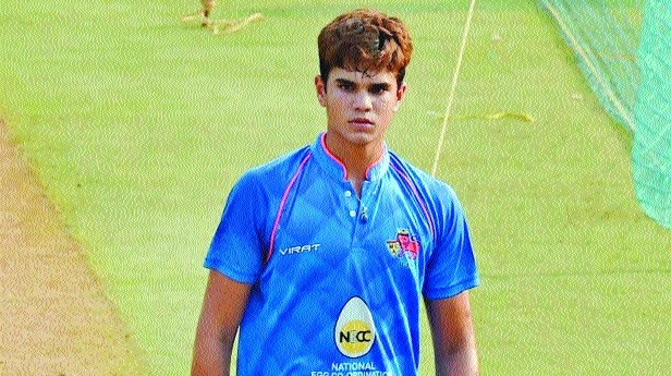 Arjun, the other Tendulkar, picks wicket on India U-19 debut