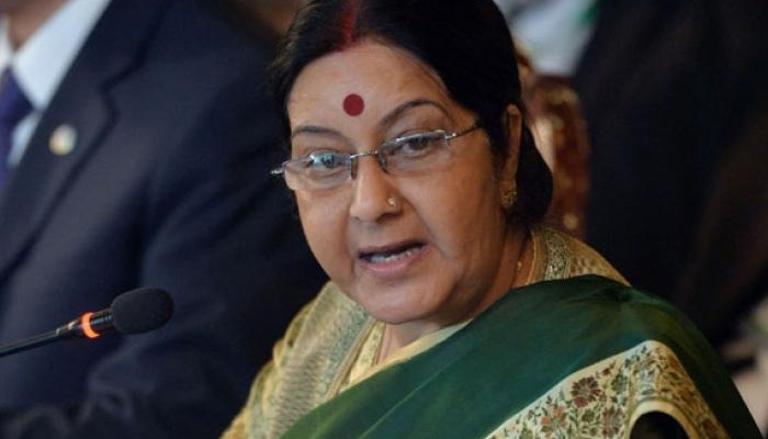 Sushma hits back at trolls with Twitter poll