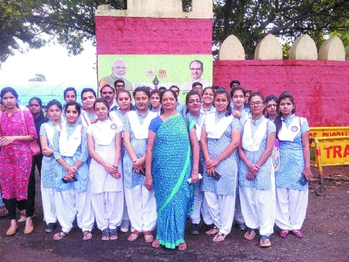 Deepmala Pagarani Sanskar School's 43 meritorious students felicitated