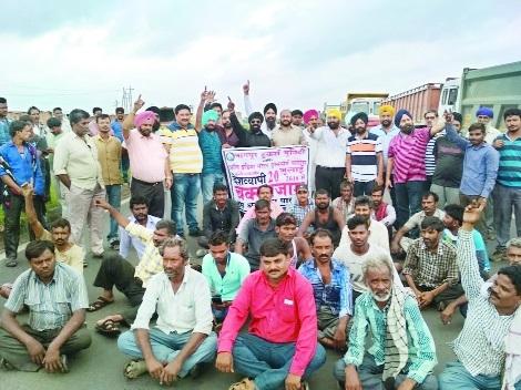 Truckers strike hits supply of goods