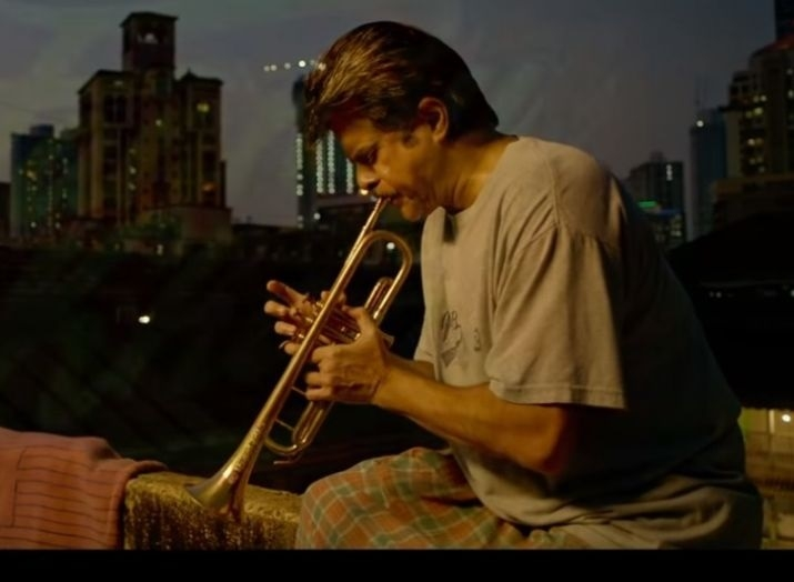 Kapoor takes trumpet lessons