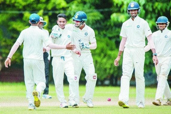 India colts tighten grip on Lanka
