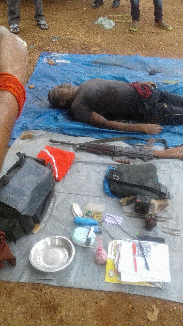 Dreaded Naxalite gunned down in Bijapur district