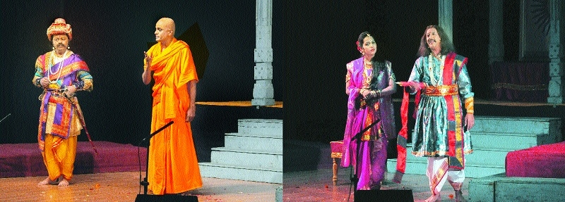 Swatantryaveer Sawarkar's thought-provoking play 'Sanyast Khadaga' casts spell on viewers