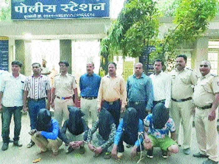 Cops arrest five for attempting to abduct Haldiram's Director