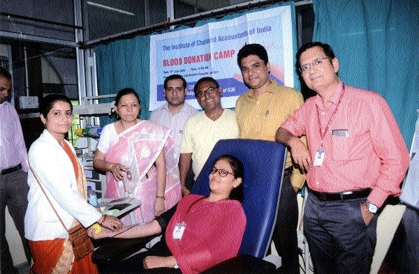 Blood donation camp held to mark CA Day