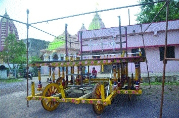 Bhilai prepares to celebrate Lord Jagnnath's Rath Yatra