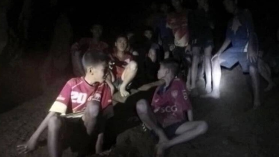 Thai boys trapped in cave located, likely to remain stuck for months