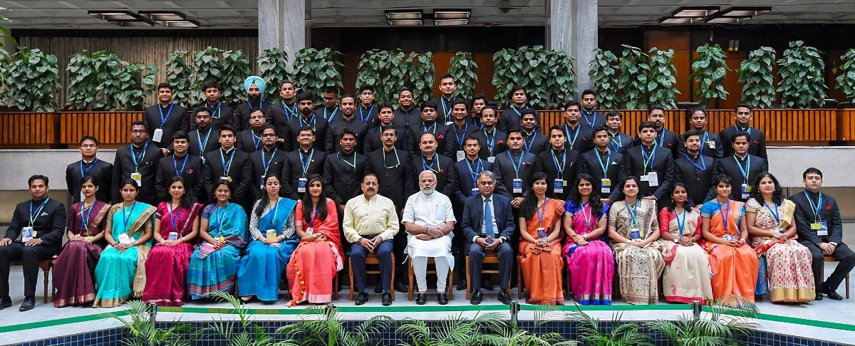 Modi discusses people's trust in governance with newly-recruited IAS