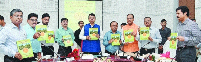 Chief Minister releases various reports on Vidarbha's devpt