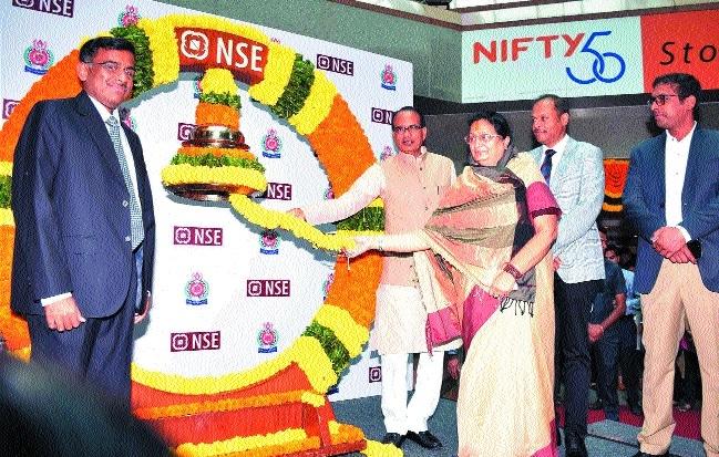 CM gets bonds registered in NSE
