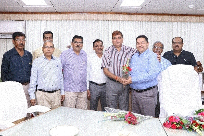A P Panda takes charge as Incharge CMD, SECL
