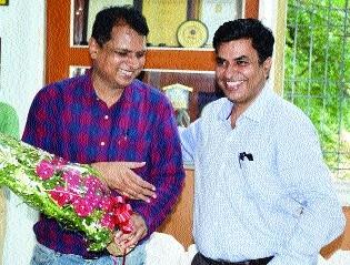 Lokeshwar Sahu takes charge