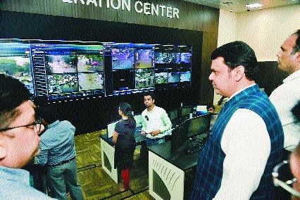 CM visits City Operation Centre, cancels leave of NMC staffers