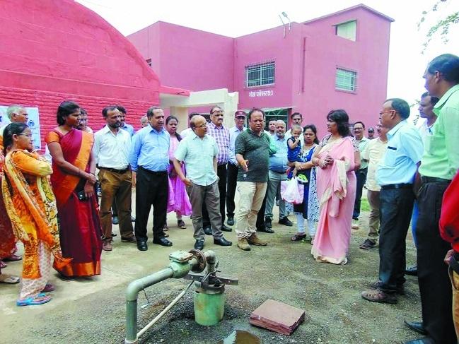 WALMI starts rain harvesting system