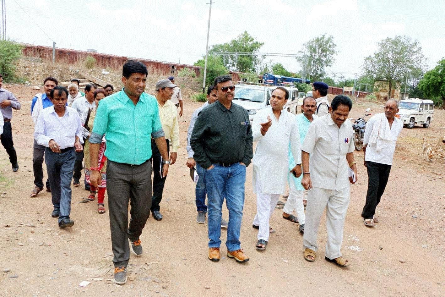 Collector checks arrangements: CM's visit