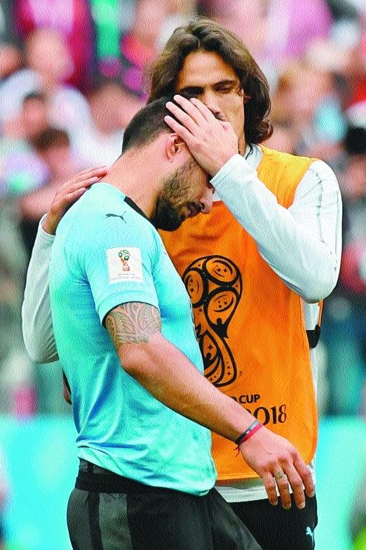 Cavani's absence cost Uruguay, feels Suarez