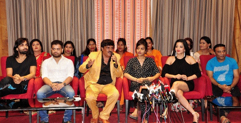 First poster of transgender based movie 'Hansa Ek Sanyog' released in Raipur