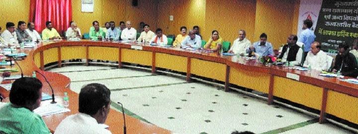 MoS Sarang holds meet of Distt Co-op Banks chairmen