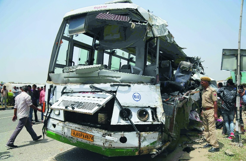 12 killed in Rajasthan road accident