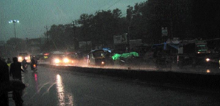 Rains bring respite in Bhopal