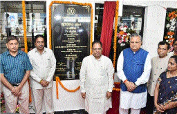 CM inaugurates Commercial Tax-GST building at Naya Raipur