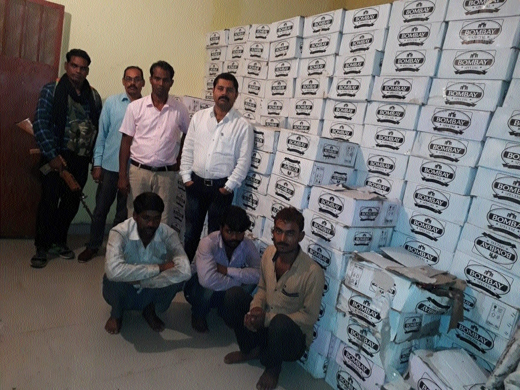 Three arrested for smuggling liquor