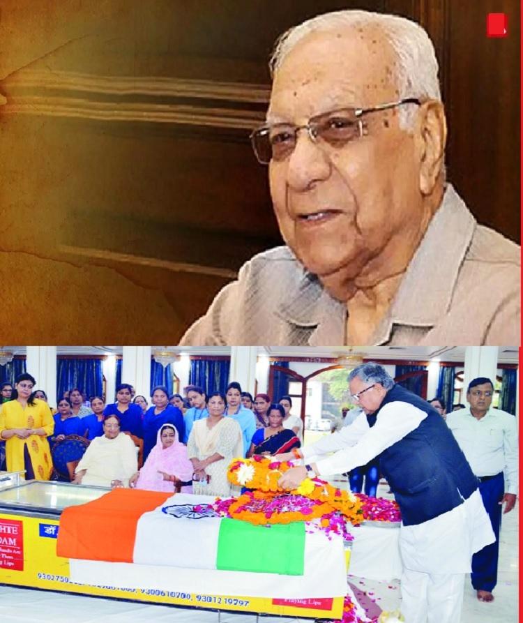 Chhattisgarh Governor Balram Dass Tandon passes away at 90