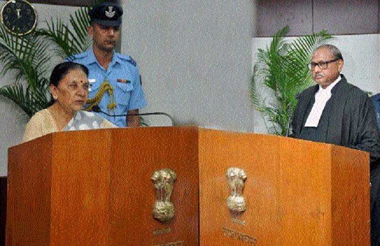 Anandiben Patel sworn-in as Governor of C'garh
