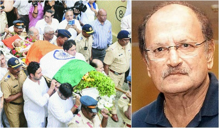 Wadekar cremated with full state honours
