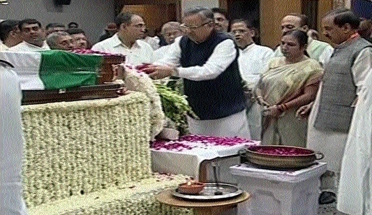 C'garh leaders pay rich tributes to Late Atalji