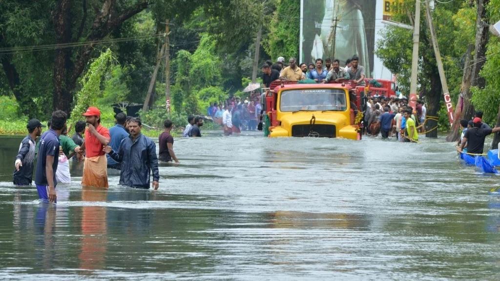 1,500 stranded in flood-hit Kodagu distt in Karnataka