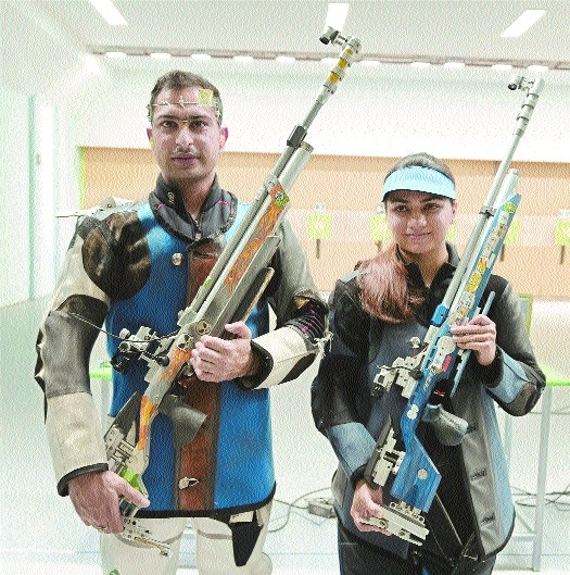 Shooters win first medal