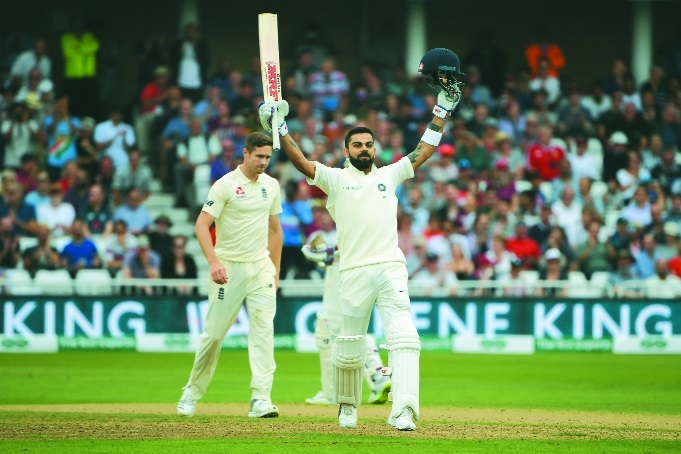 King Kohli holds court