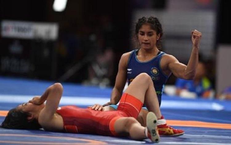 'Golden Girl' Vinesh sparkles for India