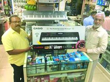 Casio CT-X series keyboards at Altaf H Vali