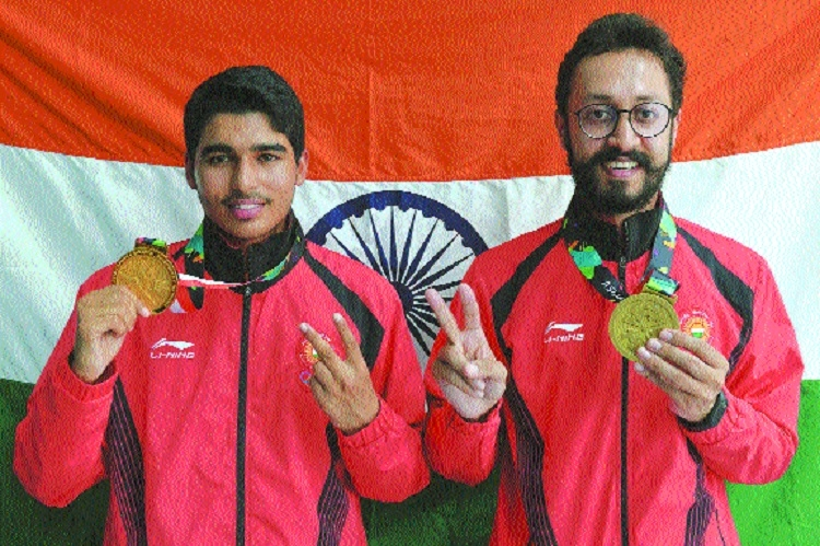 Farmer's son Saurabh youngest Indian to shoot Asian gold