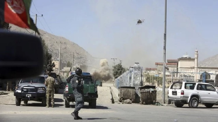 Rocket attack in Kabul during President's speech