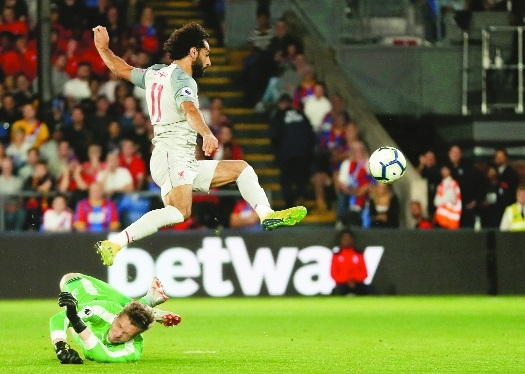 Salah in diving storm as Liverpool win