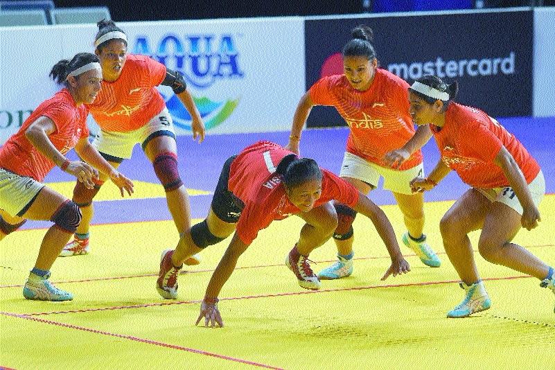 Indian women make third kabaddi final