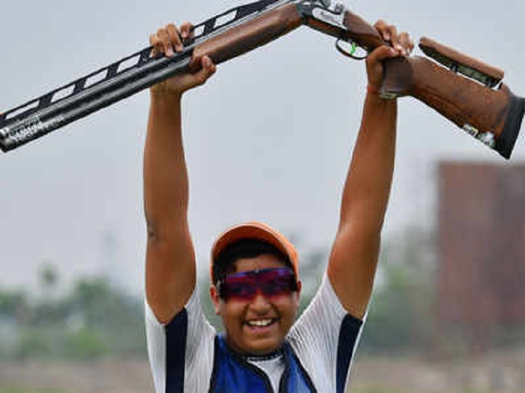 Vihan clinches Asiad silver in men's double trap shooting