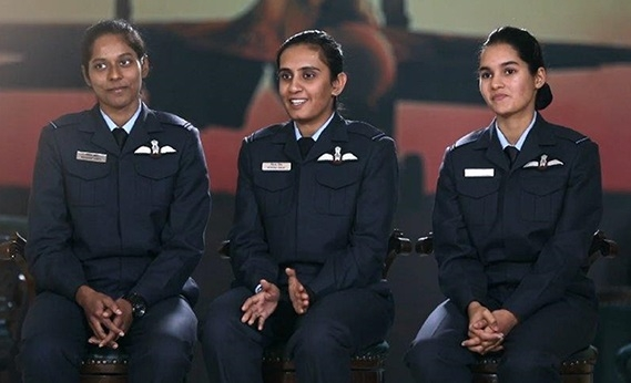 Watch winds of change blow with Discovery's new show - Women Fighter Pilots
