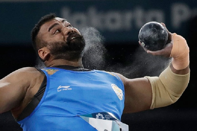Tejinder Toor clinches gold in shot put with record throw